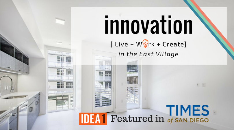 San Diego Live Work Play Create Apartments and Lofts in East Village   San Diego California   I.D.E.A. District at IDEA1