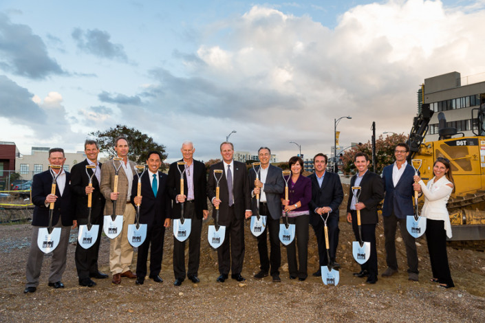 I.D.E.A. District - IDEA1 Groundbreaking photo by Anthony Ghiglia