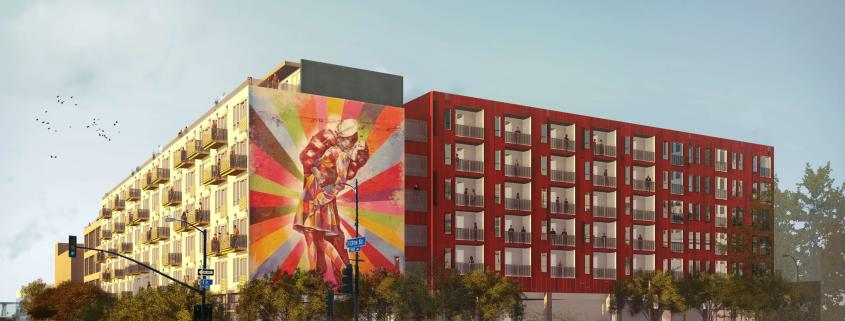 IDEA1 Renderings - IDEA DIstrict San Diego - Live Work Play