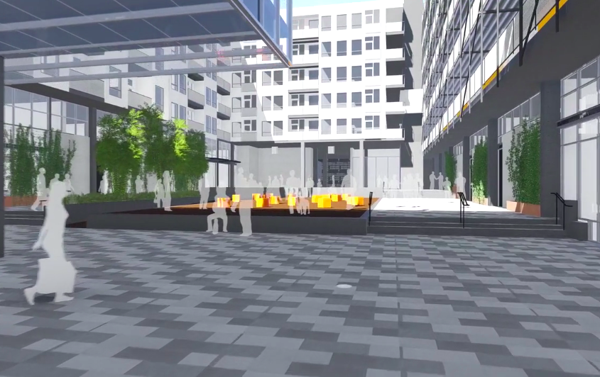 IDEA1 Rendering - I.D.E.A. District - Live Work Play