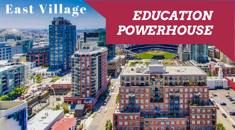 East Village Becoming Educational Powerhouse Live Work Create Apartments in San Diego IDEA District East Village