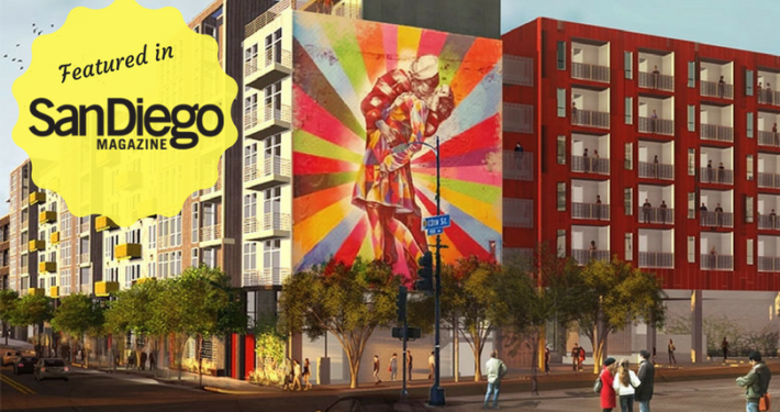 San Diego Magazine Feature Live Work Create Apartments in San Diego IDEA District East Village