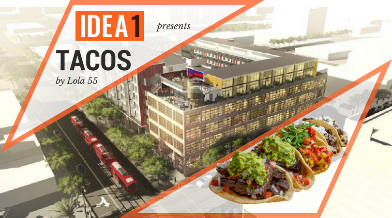 Fresh take on Tacos coming to IDEA1 - featured by Eater San Diego - Live Work Create Apartments in San Diego IDEA District East Village