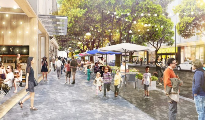 Preliminary Rendering of Facebook campus expansion