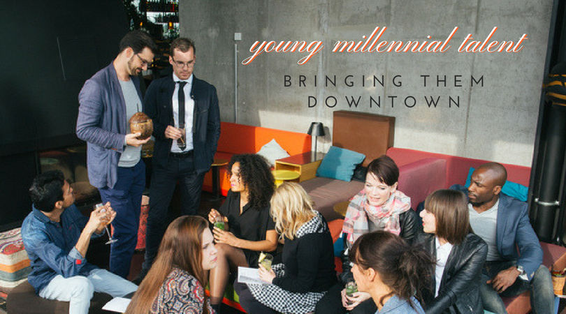 Attracting millennial talent downtown San Diego - Featured in Bisnow San Diego - Live Work Create Apartments in San Diego IDEA District East Village
