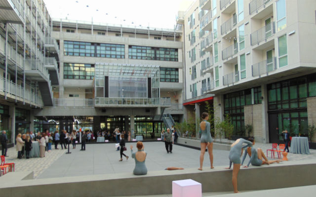 IDEA1 Hub with Dancers at Opening Event   IDEA District