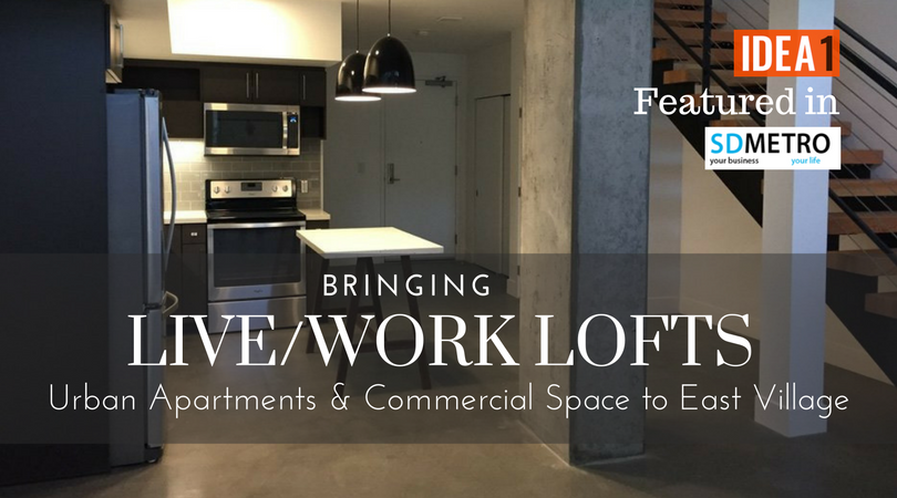 Idea1 brings live work lofts commercial space to east - Loft industriel san diego californie ...